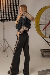 Alessa luxury панталон с широк крачол - Изображение 4