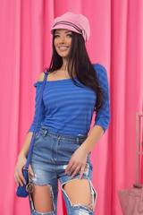 Pure beauty блуза - индиго