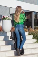 Keep it sexy дънки с висока талия - сини