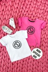 Always invited mini t-shirt с лого - бял - Изображение 3