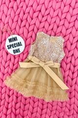 High Class Alessa mini Рокля От Дантела - Nude - Изображение 2