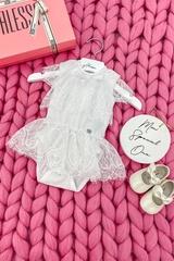 Alessa mini Рокля от бяла дантела - Изображение 1