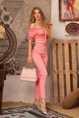 Strike a Pose Панталон с подвижен колан - Pink - Изображение 1