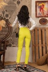 Strike a Pose Панталон с подвижен колан - Pistachio - Изображение 4