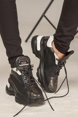 Badass silver sneakers - Изображение 1