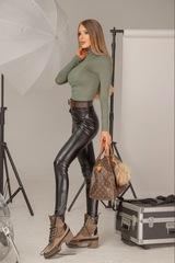 Style Practice Блуза-Поло - милитъри