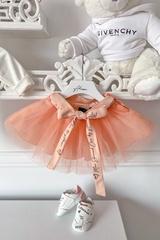 Urban princess Alessa mini пола-пачка - пудра - Изображение 1