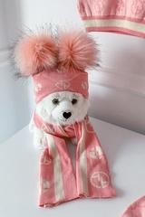 Alessa mini Religion шапка от плетиво - pink - Изображение 6