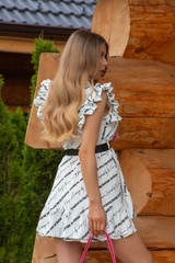 Big reputation ruffles рокля - Изображение 3