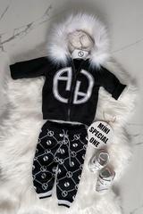 Alessa mini Religion Панталон от плетиво - черен - Изображение 5