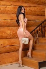 The way she walks bodycon рокля