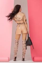 Something they admire кожено яке - nude с надписи - Изображение 8