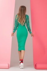 Close your mouth bodycon рокля