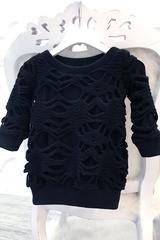 Winter web детска рокля от вълна