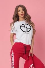 Alessa logo t-shirt - бял - Изображение 4