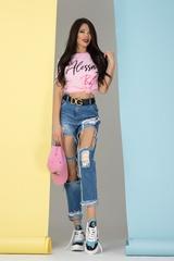 Alessa babe t-shirt - розова