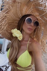 O beach Сламена шапка - Изображение 1