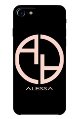 Alessa logo кейс - black