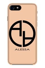 Alessa logo кейс - nude