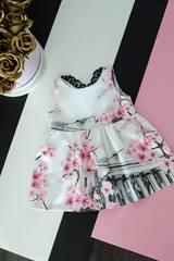 Детска рокля с принт пантеон - Изображение 1
