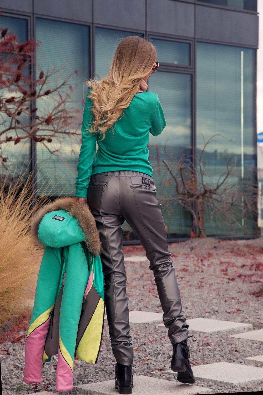 Mission Impossible панталон с ниска талия - anthracite