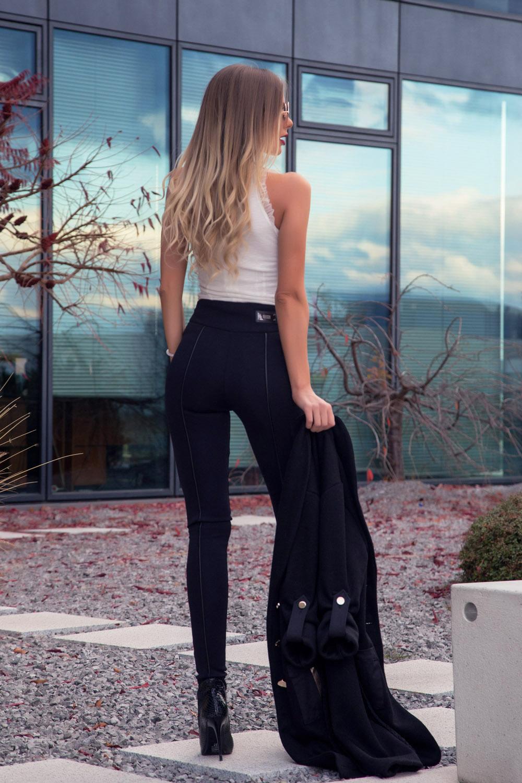 Happy Mood панталон с висока талия