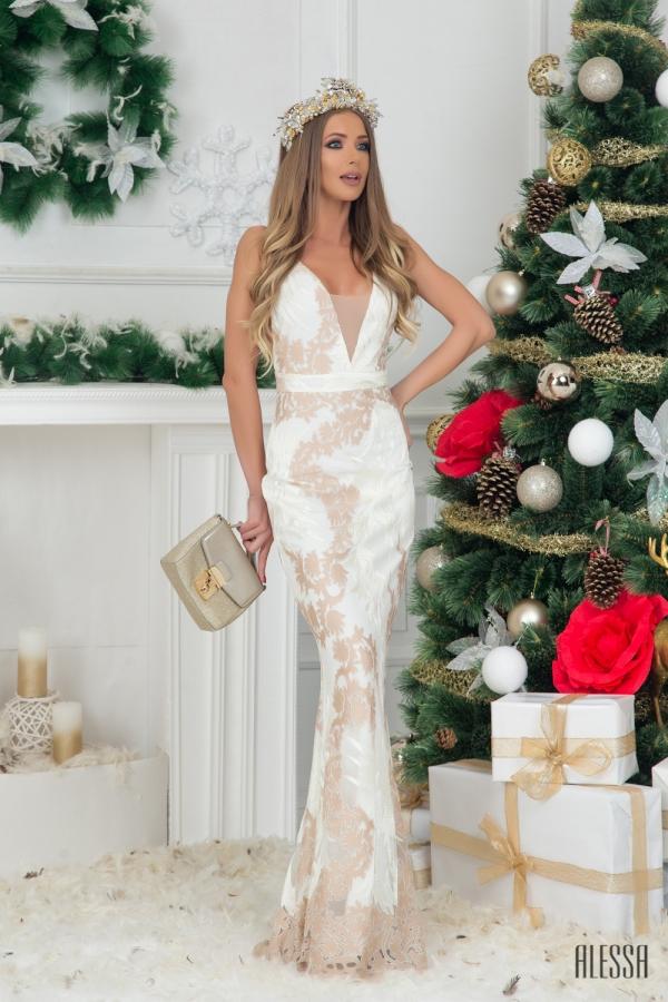 Abrielle разкошна maxi рокля