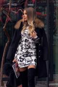 Movie star attitude рокля от плетиво