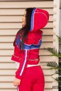 Get sporty пролетно яке - малина - Изображение 3