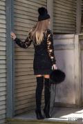 Winter web рокля от вълна