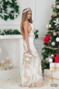 Abrielle разкошна maxi рокля - Изображение 4