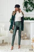 Feeling frisky панталон с висока талия - зелен
