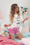 Pink power къси панталонки