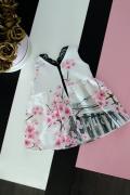Детска рокля с принт пантеон - Изображение 2
