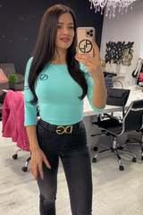 Alessa Everyday Блуза С 3/4 Ръкав - Циклама