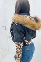Alessa luxury зимно яке с подвижен топъл хастар - Изображение 4