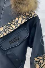 Alessa luxury зимно яке с подвижен топъл хастар - Изображение 3