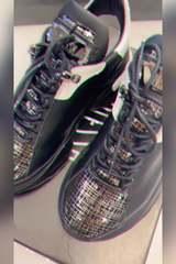 Badass silver sneakers