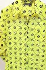 Alessa religion риза - жълт неон