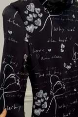 Position to win рокля от плетиво  - черна - Изображение 2