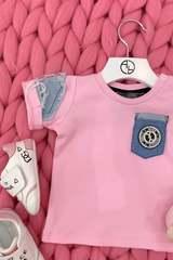 Alessa Mini Denim T-Shirt - Pink - Изображение 3