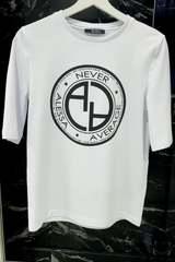 Revolve Around Me T-Shirt - Бяла - Изображение 3